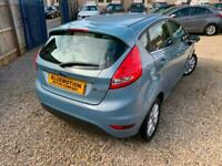 ✿2010/10 Ford Fiesta 1.25 Zetec, 5dr, Blue ✿NICE EXAMPLE ✿LOW MILEAGE✿
