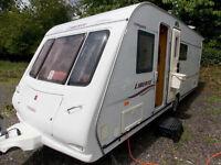 Compass Liberte 18/4 2006 Fixed End Bed Single Axle Touring Caravan - MotorMover