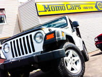 '05 Jeep TJ! Hard+Soft Top! CERTIFIED! Financing Available!!
