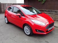 Ford Fiesta 1.0 (125ps) EcoBoost (s/s) Titanium 5 Door Hatchback Petrol Manual