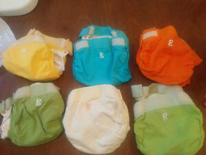 Used G-Diaper cloth diapers