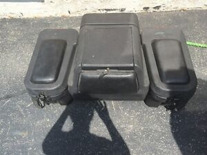 Storage box for motorbike
