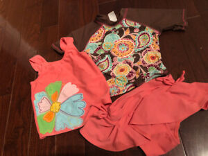 Toddler Girl Swim Suits  - Size 3