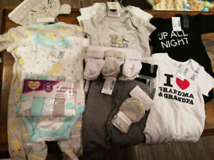 Assorted Newborn Baby Clothes
