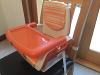 Chicco travel/compact booster seat high chair