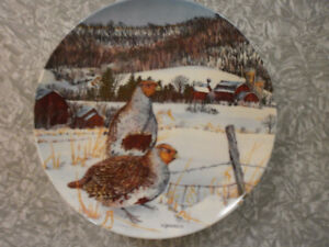 Wildlife Bird Collector Plates - great for Christmas