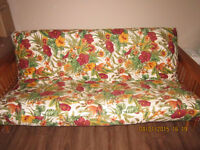 Futon - couch/double bed