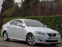2007 Lexus IS 220D 2.2 TD Saloon 4dr Diesel Manual (175 bhp) +RARE COLOUR+