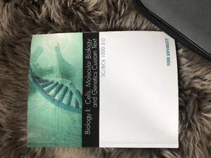 CUSTOM BIOLOGY I CELLS MOLECULAR BIOLOGY & GENETICS EDITION F