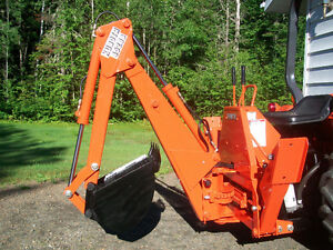 Kubota 4520B Backhoe Attachment