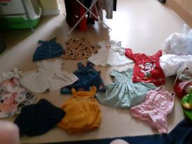 Summer bundle 6/9m clothes