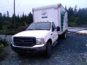 F450 cube truck