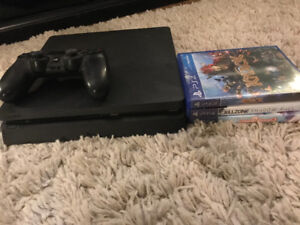 Ps4 slim with games