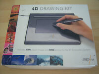 Inspira Drawing Kit by Pfaff including Tablet and Pen (NEW)