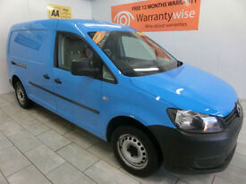 2011 Volkswagen Caddy Maxi 1.6TDI 102 C20 LWB DIESEL **BUY FOR ONLY £33 A WEEK**