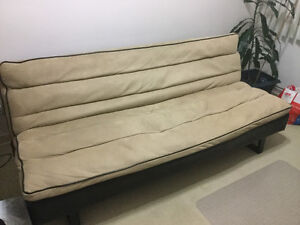 Moving Sale - futon, coffee and  side table left