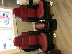 2007 Ford F-250 Outlaw Pickup Truck Seat Package (Front + Rear)
