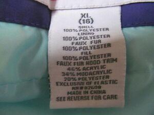 Girls Winter Jacket (Youth XL) Oakville / Halton Region Toronto (GTA) image 4
