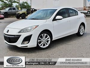 2011 Mazda Mazda3 GT - LEATHER | ONLY 37K | ACCIDENT FREE |