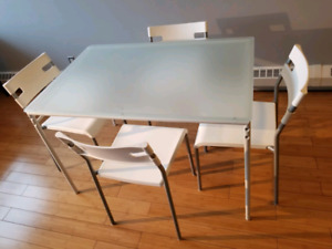 IKEA Laver table and chairs