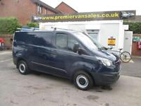 2013 13 FORD TRANSIT CUSTOM NEW SHAPE MODEL CUSTOM DARK BLUE SWB RHINO ROOF