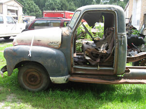 1950`s Chevrolet 1/2 ton, rat rod, restore, or parts, sell/trade London Ontario image 1