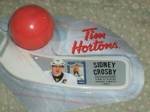 """TIM HORTONS"" - SIDNEY CROSBY - MINI STICK AND BALL SETS"