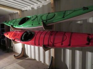 Delta 15.5 Expedition kayak, with rudder