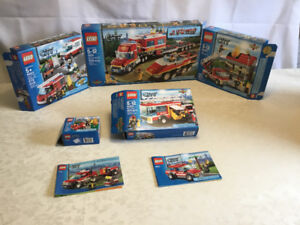 LEGO city fire lot