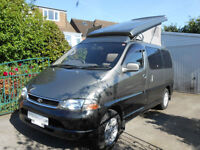 1996 TOYOTA GRANVIA 4 BERTH AUTOMATIC POP TOP CAMPERVAN FOR SALE
