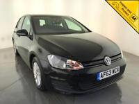 2013 VOLKSWAGEN GOLF BLUEMOTION TDI DIESEL HATCHBACK 1 OWNER VW SERVICE HISTORY