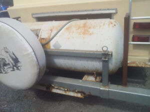 Want to trade a 420lb propane tank for a 100lb cert-tank