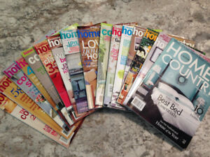 Canadian Home & Country Magazines 16 issues