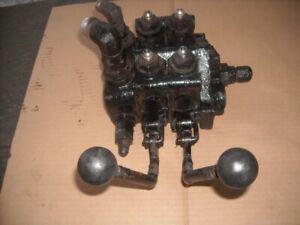 Controle Hydraulique (double bras double action)