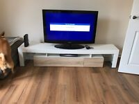 Catania TV stand unit with LED lights