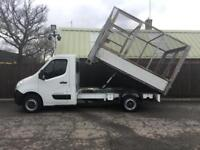 Renault Master Tipper Caged 2.3TD 125 MWB CCML35dCi**ONLY 45,000**TIPPER**TIPPER