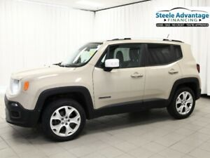 2015 Jeep Renegade Limited - Leather, Heated Seats, Low Mileage