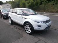 LAND ROVER RANGE ROVER EVOQUE DIESEL PURE & TECH PACK 4 WHEEL DRIVE AUTOMATIC
