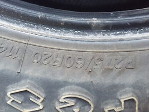 P275/60R20 Firestone All Seasons Truck Tires $125 for the Set!