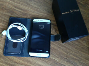 Hardly Used Huawei G7Plus 32 GB RIO-L01 (Unlocked) with Cord & F