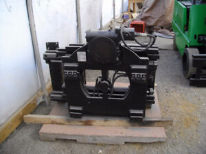 ROTATORS AND FORK POSITIONERS FOR FORKLIFTS