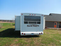 Mint condition North Trail Travel trailer