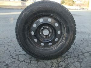 Four 245/70/17 Yokohama Tires and Rims in Excellent Condition
