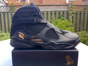 Air Jordan Retro 8 OVO  Black Size 11.5