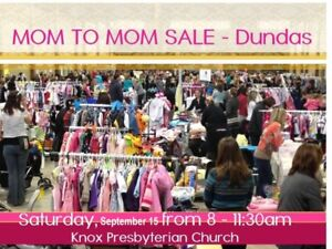 Mom to Mom Sale - September 15, 2018