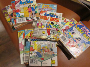 Lot of 12 Archie digest and double digest books