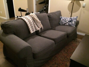 Couch Grey Ikea