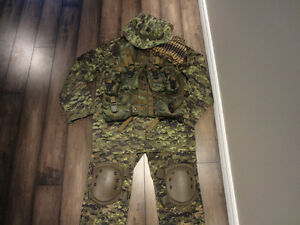 Kit camo pour airsoft ou paintball