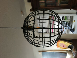 Funky black ceiling light - never been used!