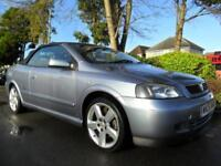 VAUXHALL ASTRA 1.8 2006 CONVERTIBLE HPI CLEAR INC WARRANTY COMPLETE WITH M.O.T